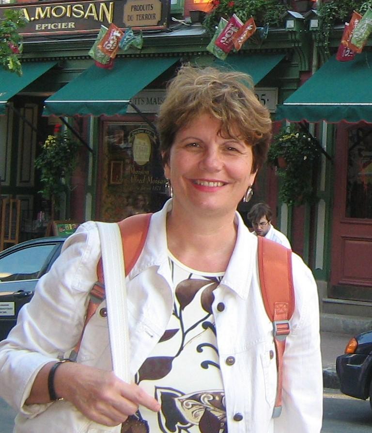 Davorka Franić, profesorica francuskoga i talijanskoga jezika
